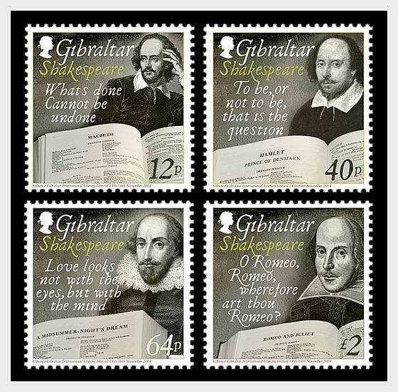 Shakespeare 450th Anniversary - Set Mint - Set