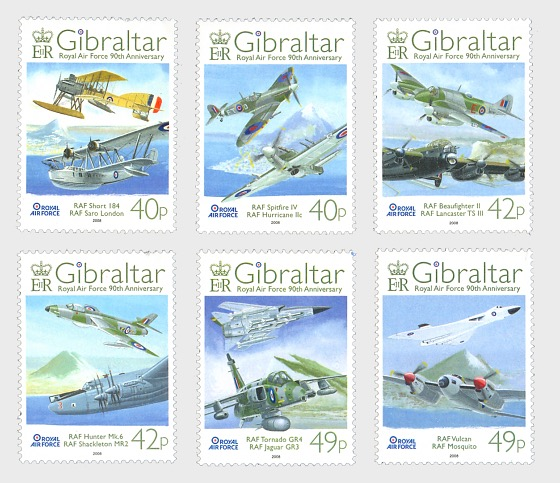 RAF 90th Anniversary - Set