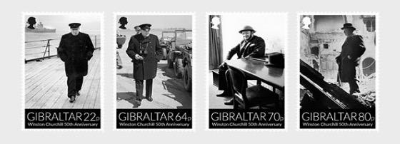 Winston Churchill 50 ° anniversario - Serie