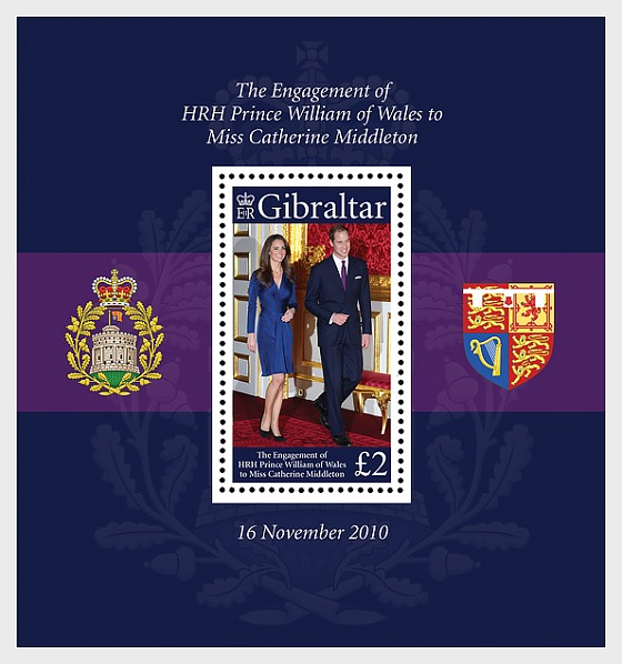 Royal Engagement - Miniature Sheet