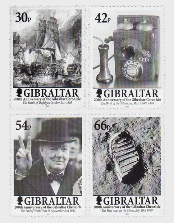 200 Years of the Gibraltar Chronicle - Set