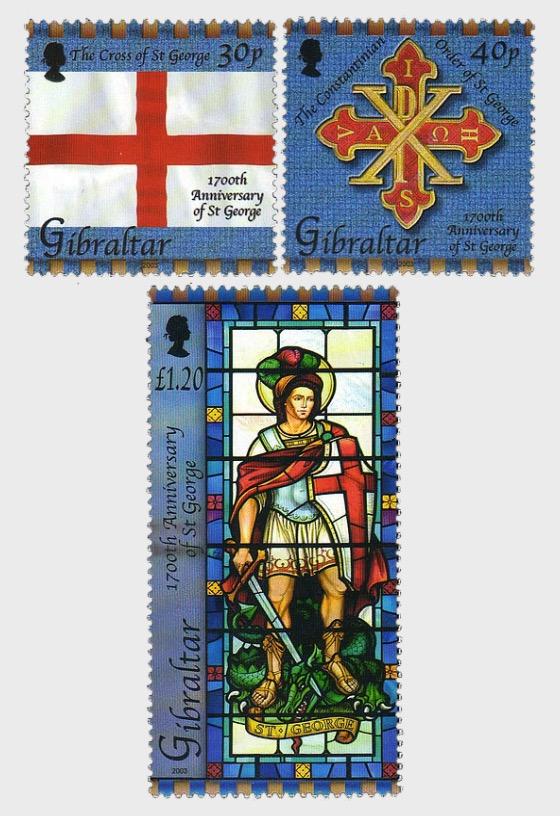 1700th Ann. St George - Set