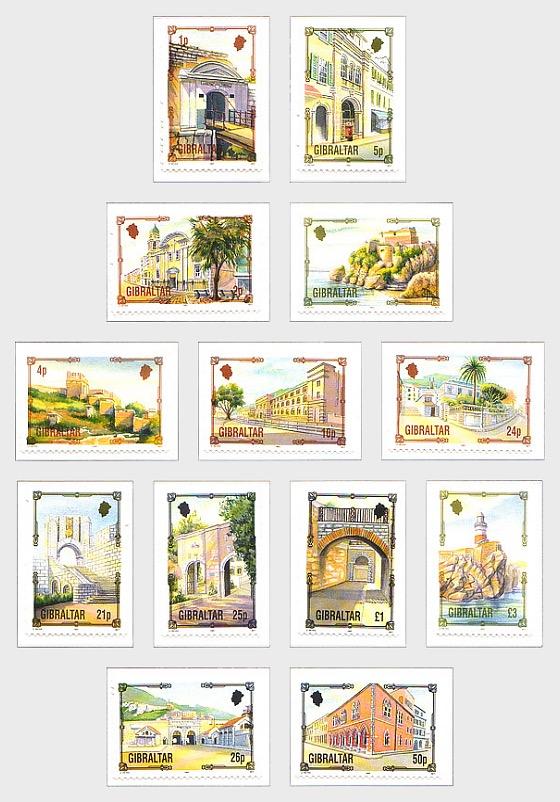 Definitive Architecture (13v) (catalogue price) - Set