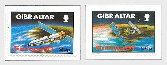 Europa 1991 - Spazio (prezzo di catalogo) - Serie