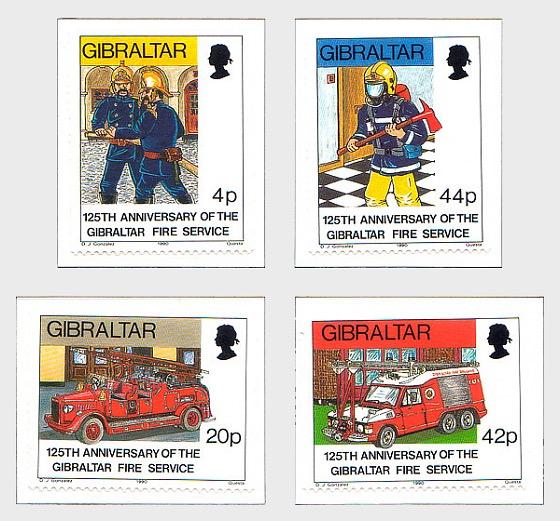 125 Aniversario del Servicio de Bomberos 1990 (precio de catalogo) - Series