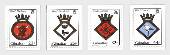 1989 Naval Crests Series VIII - Set