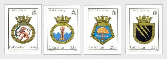 1986海军徽章系列V (目录价格) - 套票