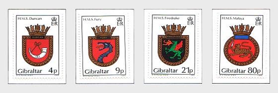 1985 Creste Navali Serie IV (prezzo di catalogo) - Serie