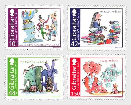Europa 2010 Children Books - Roald Dahl - Set