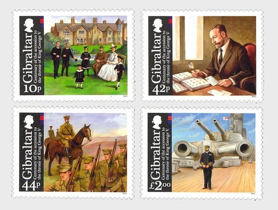 Giorgio V del Regno Unito - Anniversario - Serie