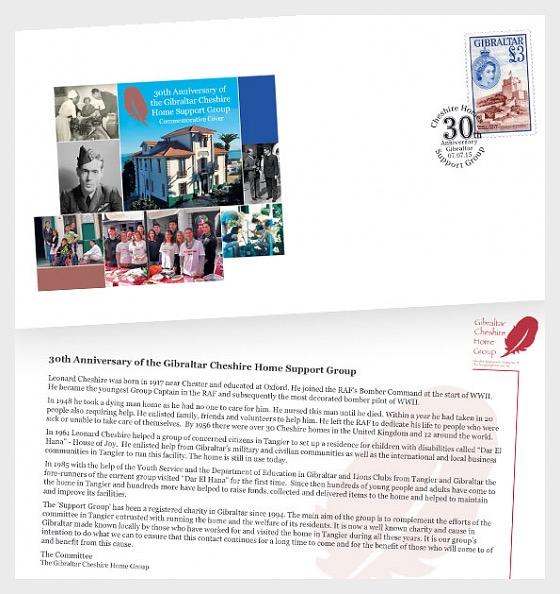 30 ° anniversario del gruppo di sostegno Cheshire Homes - Cartella Speciale
