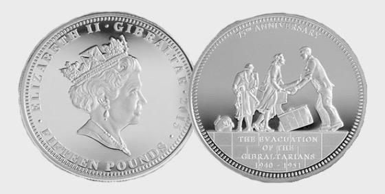 Evacuation 75th Anniversary Silver Coin - Silver Coin