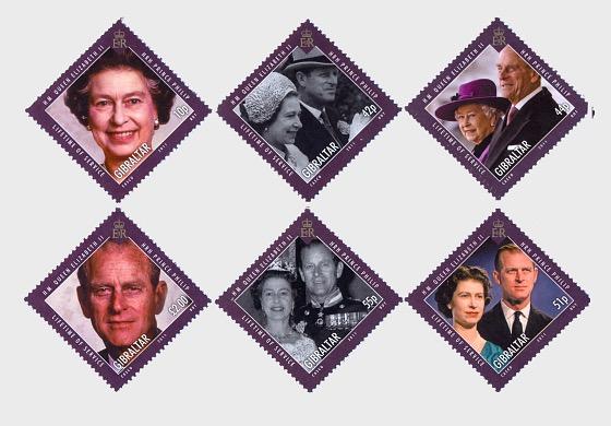 HM QE II, Prince Philip `Lifetime of Service` - Set