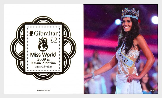 Miss World - Miniature Sheet