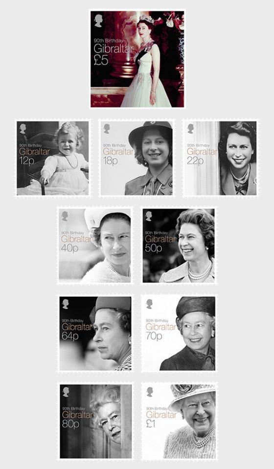 Regina Elisabetta II 90 ° compleanno - Serie