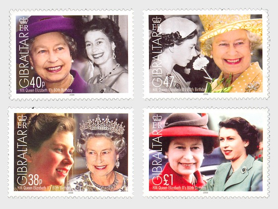HM QE II 80th Birthday - Set