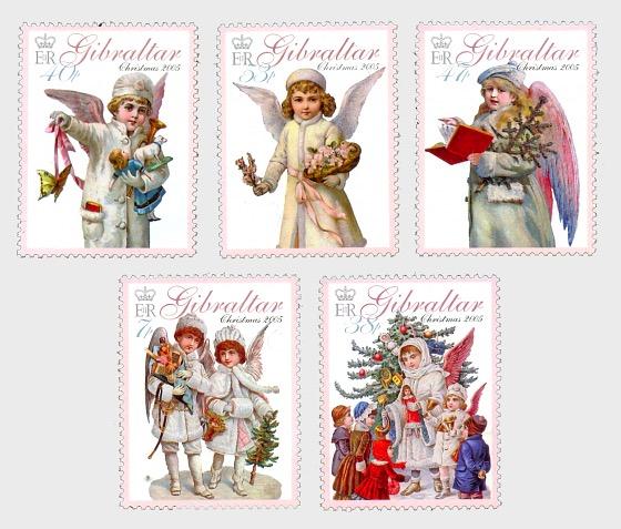 Christmas 2005 'Angels' - Set