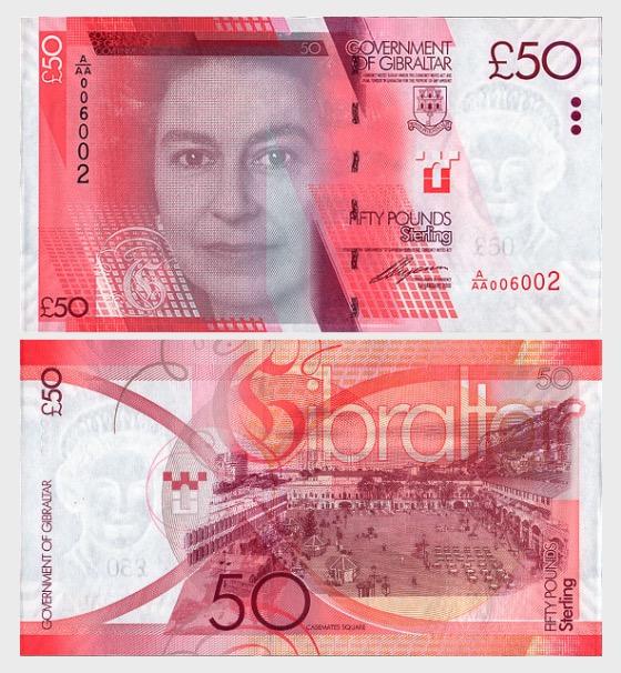 2010 £50 Banknote - Banknoten