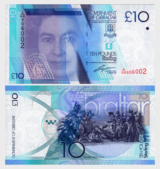 2010 £10 Billete - Billetes de banco