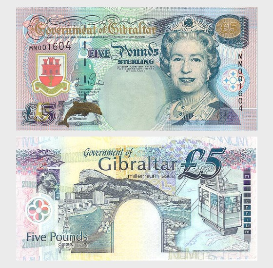 2000 £5 Banknote - Banknote