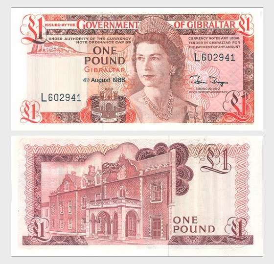 1988 £1 Banknote - Banknote