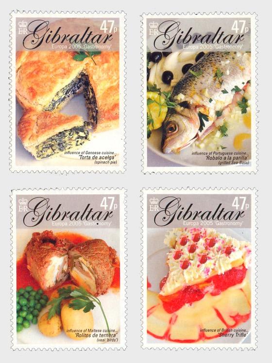 Europa 2005 'Gastronomy' - Set