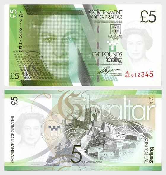 Banconote di Gibilterra - Banconota