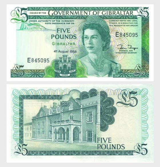 1988 £5 Banknote - Banknote