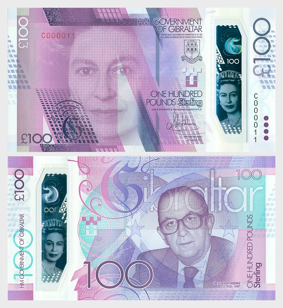 2017 £100 Banknote - Banknote
