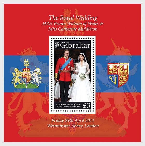 Royal Wedding - Miniature Sheet