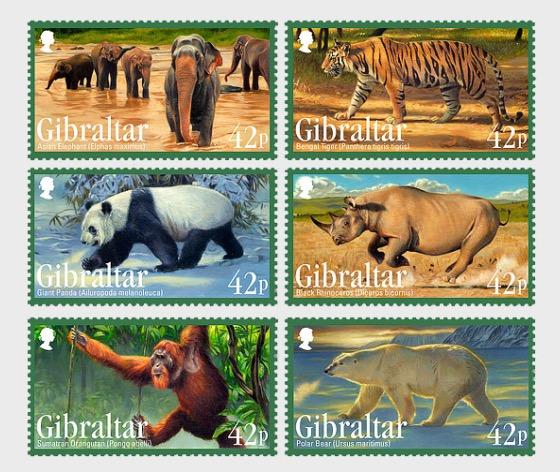 Endangered Animals - Set