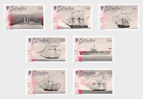 HMS Gibraltar - Set