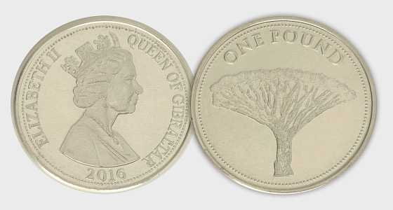 2016 £1 Dragon Tree - Single Coin
