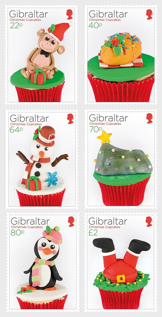 Christmas 2017 - Cupcakes - Set