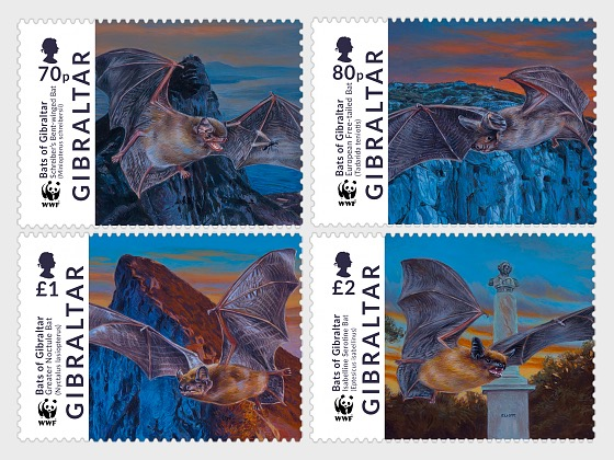 WWF Bats of Gibraltar - Set
