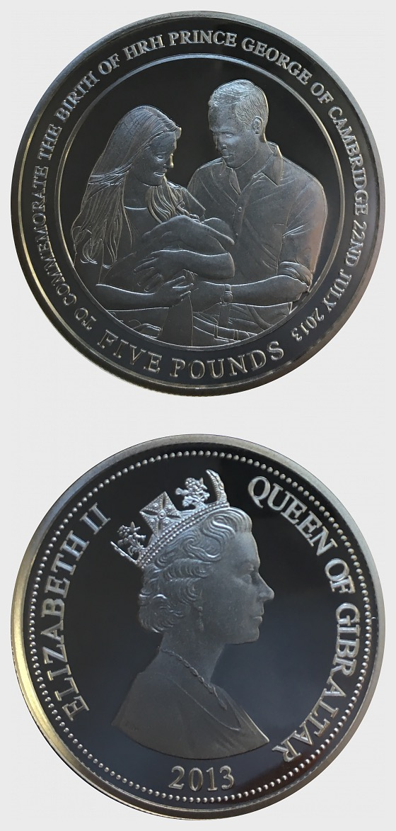 Royal Baby - Prince George - Silver Coin - Silver Coin