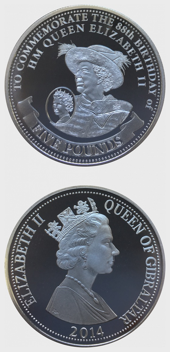 Queen's 88th Birthday - Coin 1 - Silver Coin