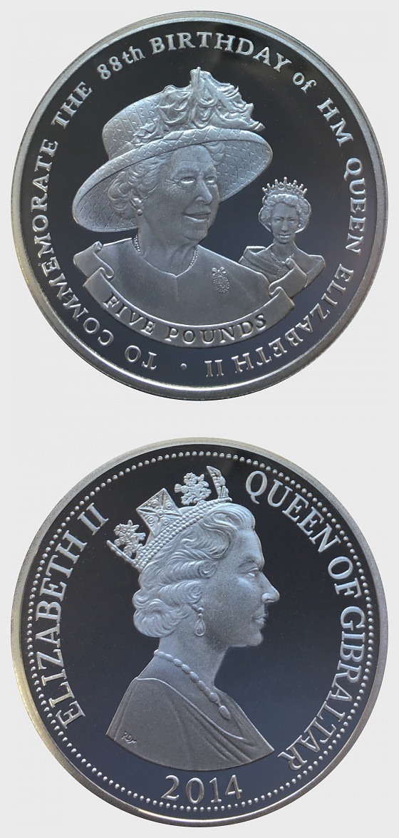Queen's 88th Birthday - Coin 2 - Silver Coin