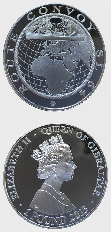 Convoy SL 64 - Calcutta - Silver Coin