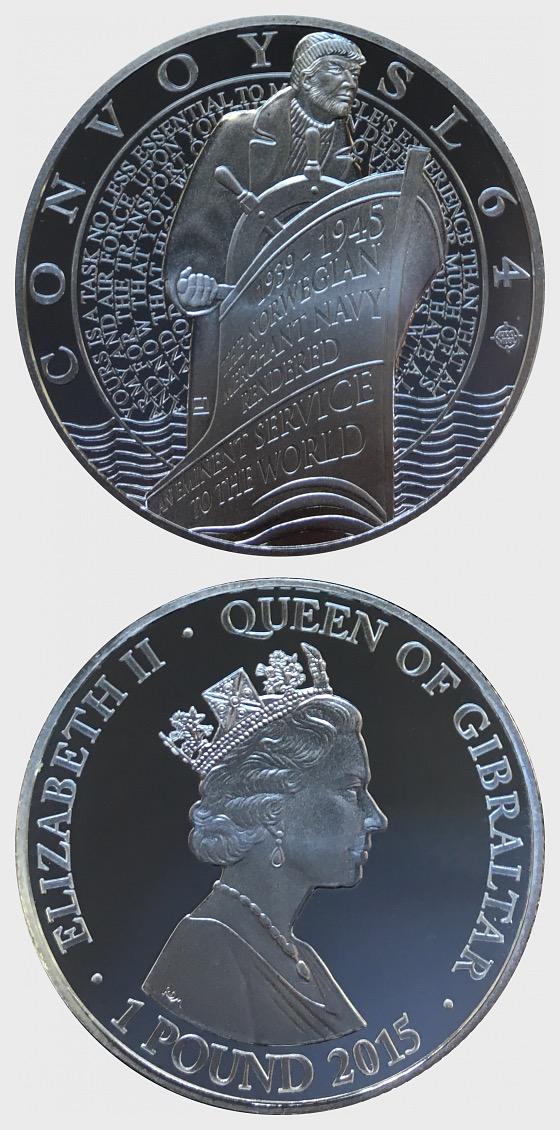 Convoy SL 64 - Merchant Navy - Silver Coin