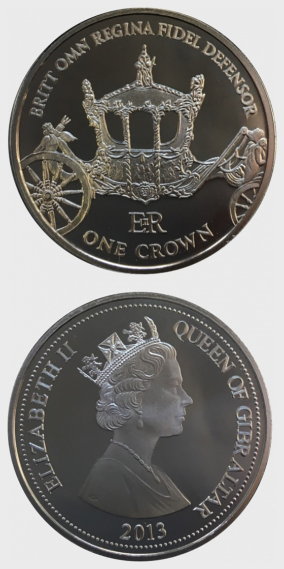 Gold State Carriage Coin - Commemorative