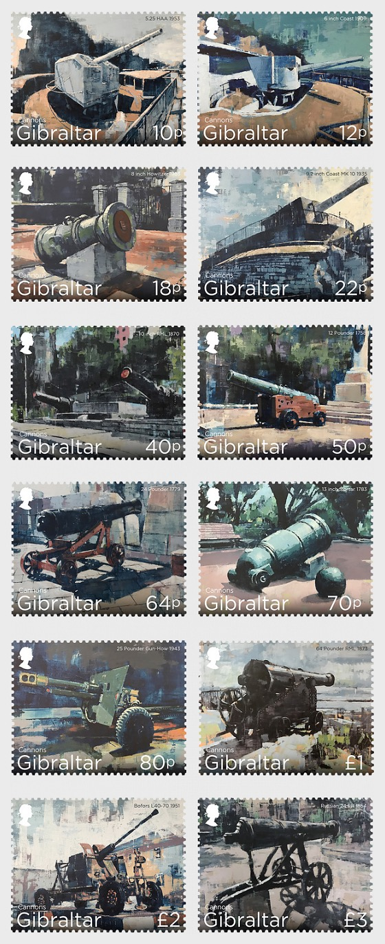Gibraltar Cannons - Mint - Set