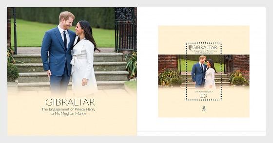 Fidanzamento del Principe Harry e Meghan Markle, - Presentation Pack