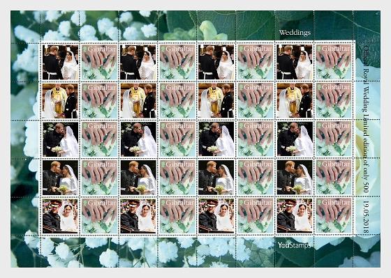 NEW Royal Wedding LTD Sheet - Full sheets