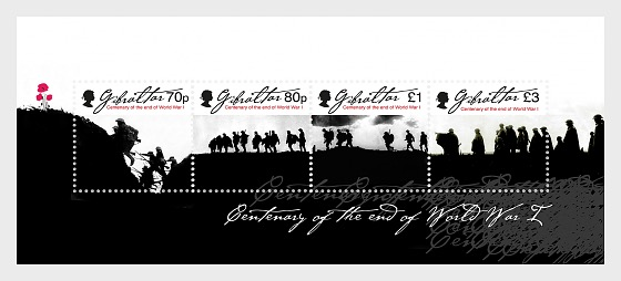 End of WWI Centenary - Mint - Miniature Sheet