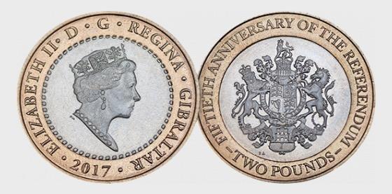 £2 Coin - Referendum 50th Anniversary - Commemorative