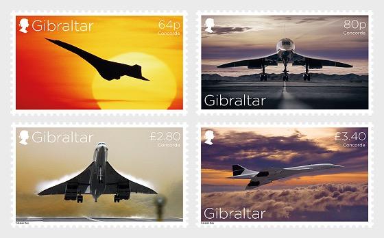 Concorde 50th Anniversary - Mint - Set