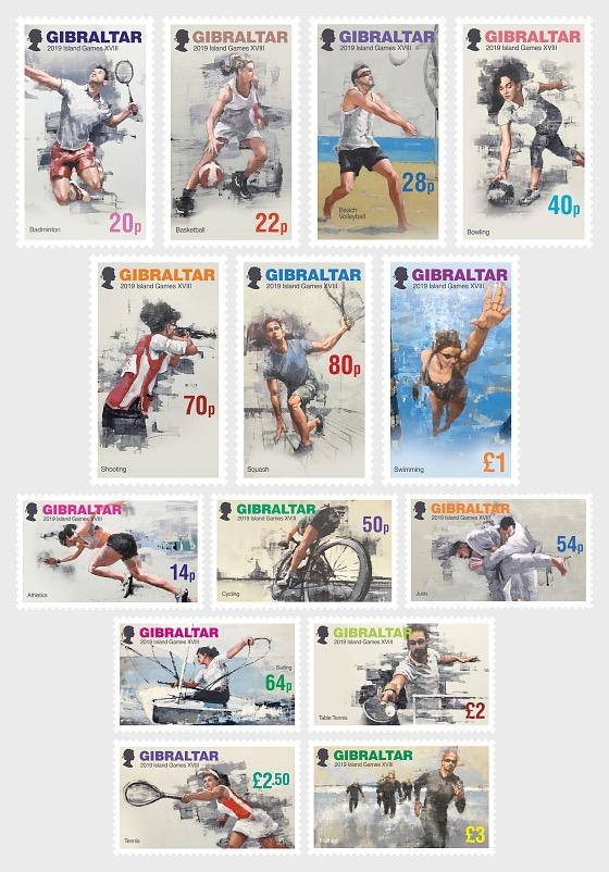 Giochi di isole XVIII a Gibilterra - Serie