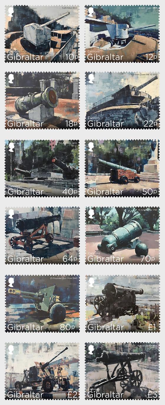 Gibraltar Cannons - CTO - Set CTO