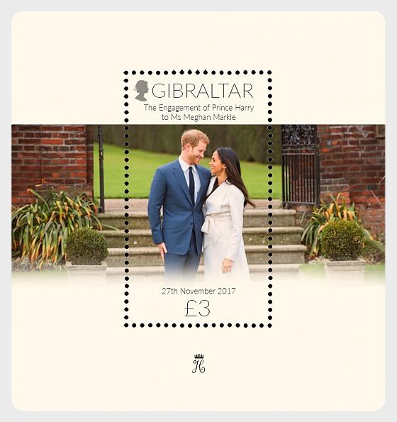 Fidanzamento del Principe Harry e Meghan Markle, - Foglietti CTO
